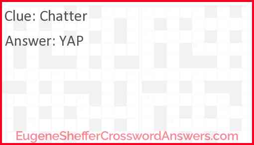 Chatter Answer