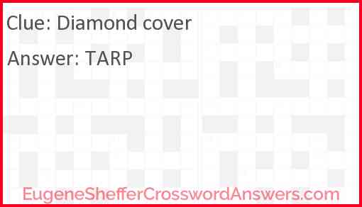 Diamond cover Answer