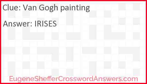 Van Gogh painting Answer